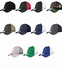 New Era 9Forty Trucker Snapback Mesh Back Hat / Cap NE205 BLANK 8 colors