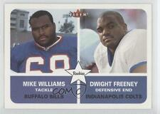 2002 Fleer Tradition #298 Dwight Freeney Mike Williams RC Football Card 0l1