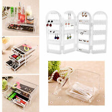 Clear Acrylic Makeup Drawer Cosmetic Organizer Jewellery Case Box Storage