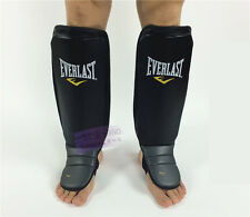 New Everlast MMA Gel Shin guards Muhammad Ali Punch Mitts kick boxing Muay Thai