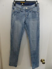 WOMENS ROCK & REPUBLIC SKINNY JEANS SIZE MISSES 0M.  BLUE COLOR. NWT