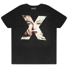 Mustache Brigade Monroe Picture In X Black T-shirt NEW Sizes S-L