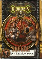 Skorne Hordes Mk3 Faction Cards