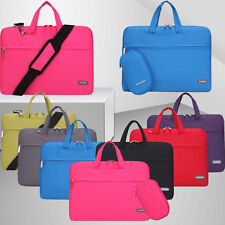 11 13 15 Inch Messenger Case Laptop Strap Shoulder Bag With Pouch For Notebook