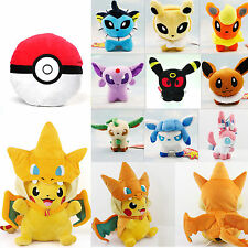 Pokemon Pocket Monster Pokedolls Throw Pillow Cushion Toy Plush Doll Collection