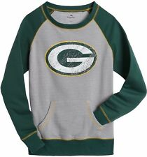 Green Bay Packers Ladies Crew Neck Sweatshirt OT Queen 12253