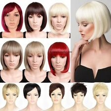 UK Sexy Ladies Dome Short BOB Wig Hair Full Wigs Lowest Price Wholesale Elgant