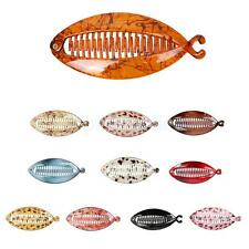 Resin Hair Claw Tail Fish Clip Comb Hairclip Grips Clamp Ladies Accessory