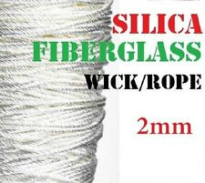 2mm High Quality Silica Rope Wick Temp > 1200°C Perfect for Atty's