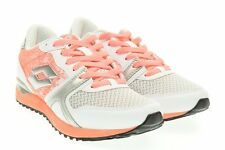 Shoes Lotto Record VII Woman s2057 Fashion Casual Sneakers Pink White Coral