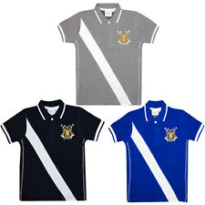 Boy's Polo T Shirts Kids Summer T-Shirt Children Striped Collared Tops 2-6 Year