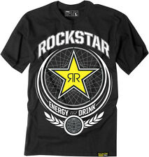 Factory Effex Licensed Rockstar Imperial T-Shirt Black Mens All Sizes