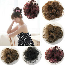 1Pc Girl Lady Fashion Hair Cover Hairpiece Clip Synthetic Hair Extensions 4Color