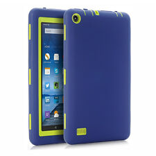 """High Impact Resistant Heavy Duty Silicone Case For Amazon Kindle Fire 7"""" Tablet"""