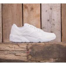 Shoes Puma R698 360592 04  Core Leather Man Sneaker White Vaporous Gray training