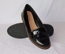 Womens Flats Loafers Tassel Smart Ladies Classic Shoes Slip On New