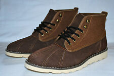 GENERIC SURPLUS M DUCK BOOT SUEDE WOOL EARTH BROWN URBAN OUTFITTERS M23DB18