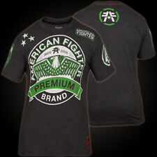 American Fighter by Affliction T-Shirt Morning Glory in Black