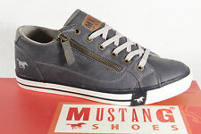 Mustang Lace-up Loafers Slip-on Sneakers dark blue new