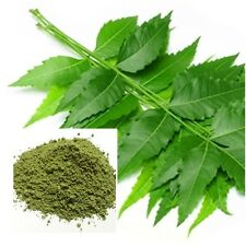 Neem Leaves Powder Azadirachta indica Herb 100% Organic Pure Natural  From Thai