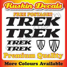 Premium Quality Trek Bike Decals Stickers mountain bike road frame mtb