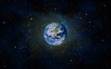 """The Planet Earth Space Universe Silk Cloth Poster 21x13"""" 28x18"""" 40x24"""" Decor 03"""