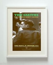 THE SMITHS THE WORLD WONT LISTEN ART PRINT POSTER UNFRAMED HQ 300GSM MATTE