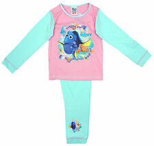 Girls Disney Finding Dory Let the Shells Nemo Cotton Pyjamas 18 Months - 5 Years