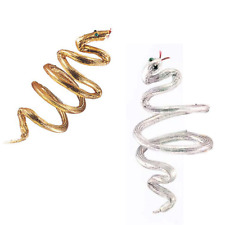 Snake Cleopatra Armband Headband or Bracelet (Choose Your Color) Gold Silver New