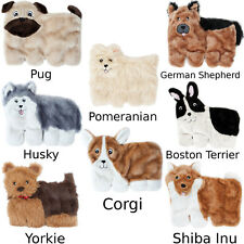 Squeakie Pup Dog Toys (Choose Your Breed) Pug Husky Corgi Terrier Shepherd New