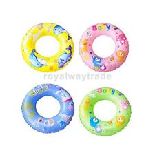 Colorful Swimming Pool Swim Ring Beach Toys Inflatable Float for Kids Children