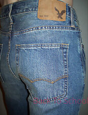 AE AMERICAN EAGLE ORIGINAL STRAIGHT JEANS MENS MEDIUM AUTHENTIC WASH 28x32