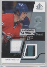 2008-09 SP Game Used Edition #AF-SS Steve Shutt /25 Montreal Canadiens Card 0o9