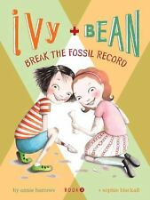 Ivy + Bean Break the Fossil Record IVYB 3 Annie Barrows 2007 Paperback NEW