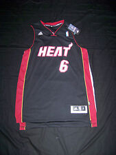 Adidas Men's Miami Heat #6 Lebron James Swingman Jersey NWT Sewn