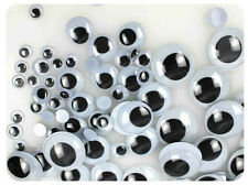 100Pcs New 6-12mm Black Plastic Safety Eyes for Teddy Bear Dolls Toy Animal Eyes