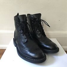 Givenchy Men's Black Leather Boots - New - (44/11, 42/9)