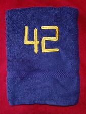The Hitchhiker's Guide to the Galaxy embroidered 42 Towel HHGTTG
