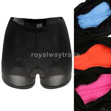 Bike Bicycle Cycling Riding Shorts 3D Gel Padded Pants Men Women Size S-XXL