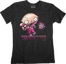 New Authentic The Family Guy Stewie Kneel Before My Might Juniors T-Shirt