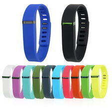 Large And Small Replacement Wrist Band & Clasp For Fitbit Flex Bracelet HL
