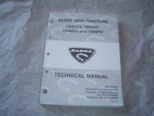 John Deere sabre lawn tractor 1842GV 1848GV technical service manual