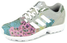 New Women's Adidas Originals Womens Zx Flux Grey/white Footwear Sneakers Shoes R