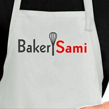 Personalized Baker Apron.  Custom Baker apron. Personalized Chef Apron.