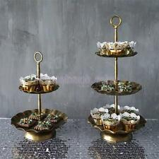 Iron Metal Cupcake Muffin Stand Wedding Party Display Cake Tower 2 / 3 Tier