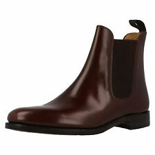 Loake '290T' Mens Walnut/Brown Polished Leather Chelsea Boots