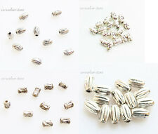 100 200 500 1000pcs post tube ANTIQUE Tibet Silver alloy Spacer Beads
