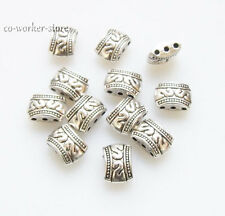 3 hole ANTIQUE Tibet Silver alloy Spacer connector Beads 10*7mm USA BY EUB
