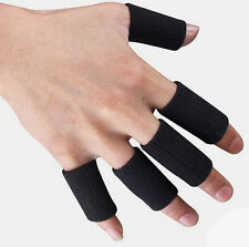 Support Arthritis Finger 5Pcs Kuangmi Sleeves Wrap Guard Hot Stretchy Basketball