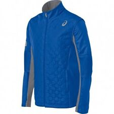 Asics THERMOPOLIS WINDBLOCKER Mens Zipper Front  Quilted Jacket  NEW